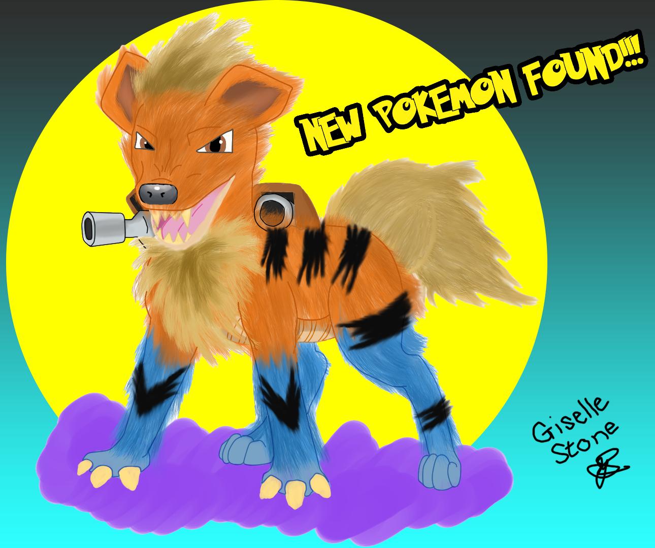 Growlithe + Blastoise = Blastlithe Jazza COTM Pokemon Mashup