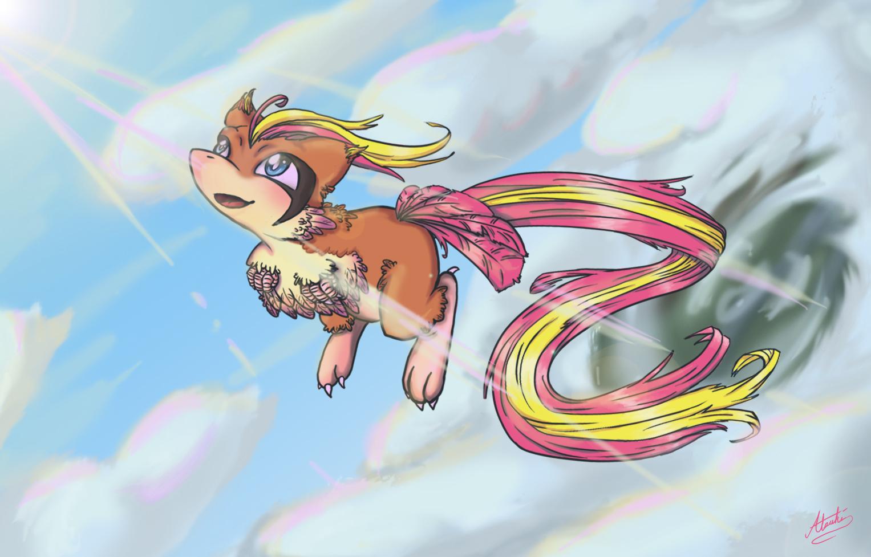 Mew + Pidgeot = Mewgeot