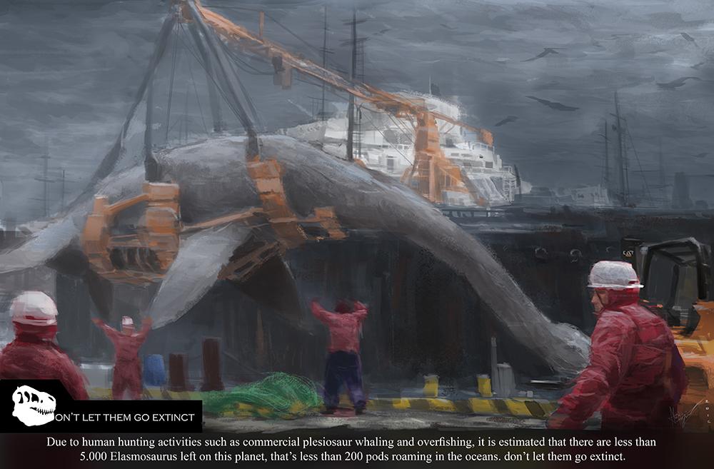 Don't Let Them Go Extinct- Plesiosaur Whaling