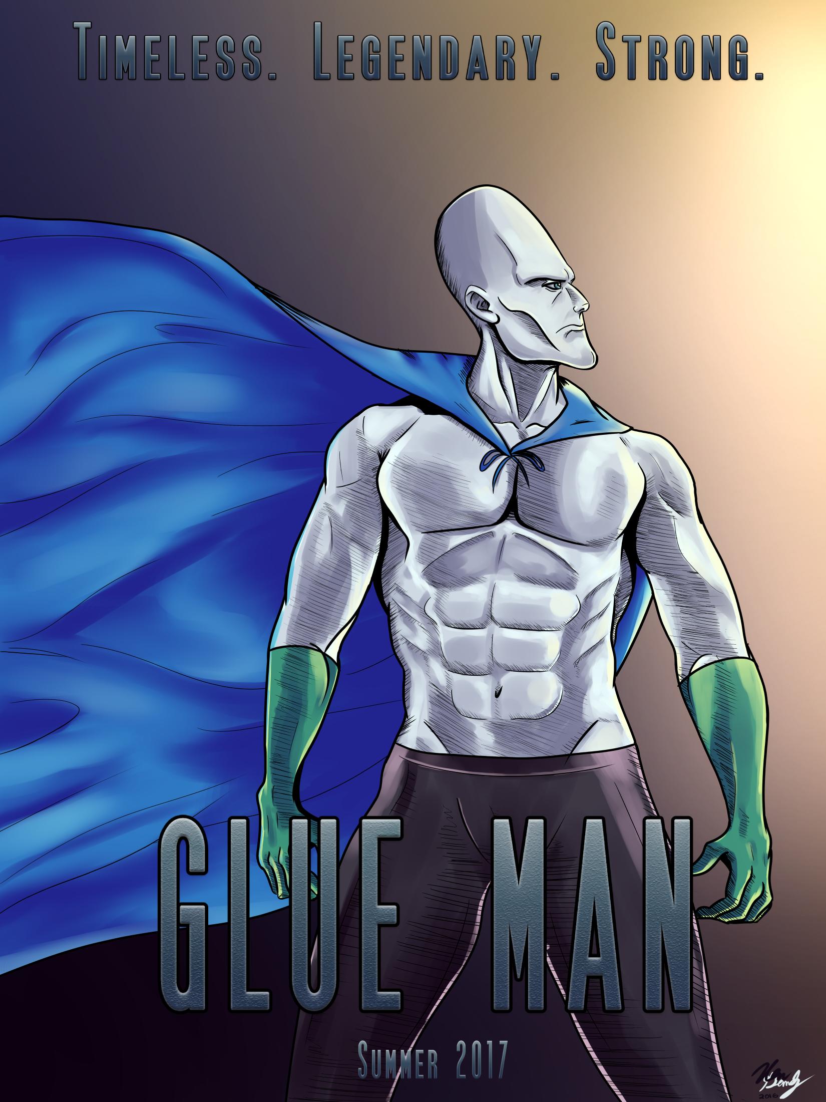 Glue Man: The Movie
