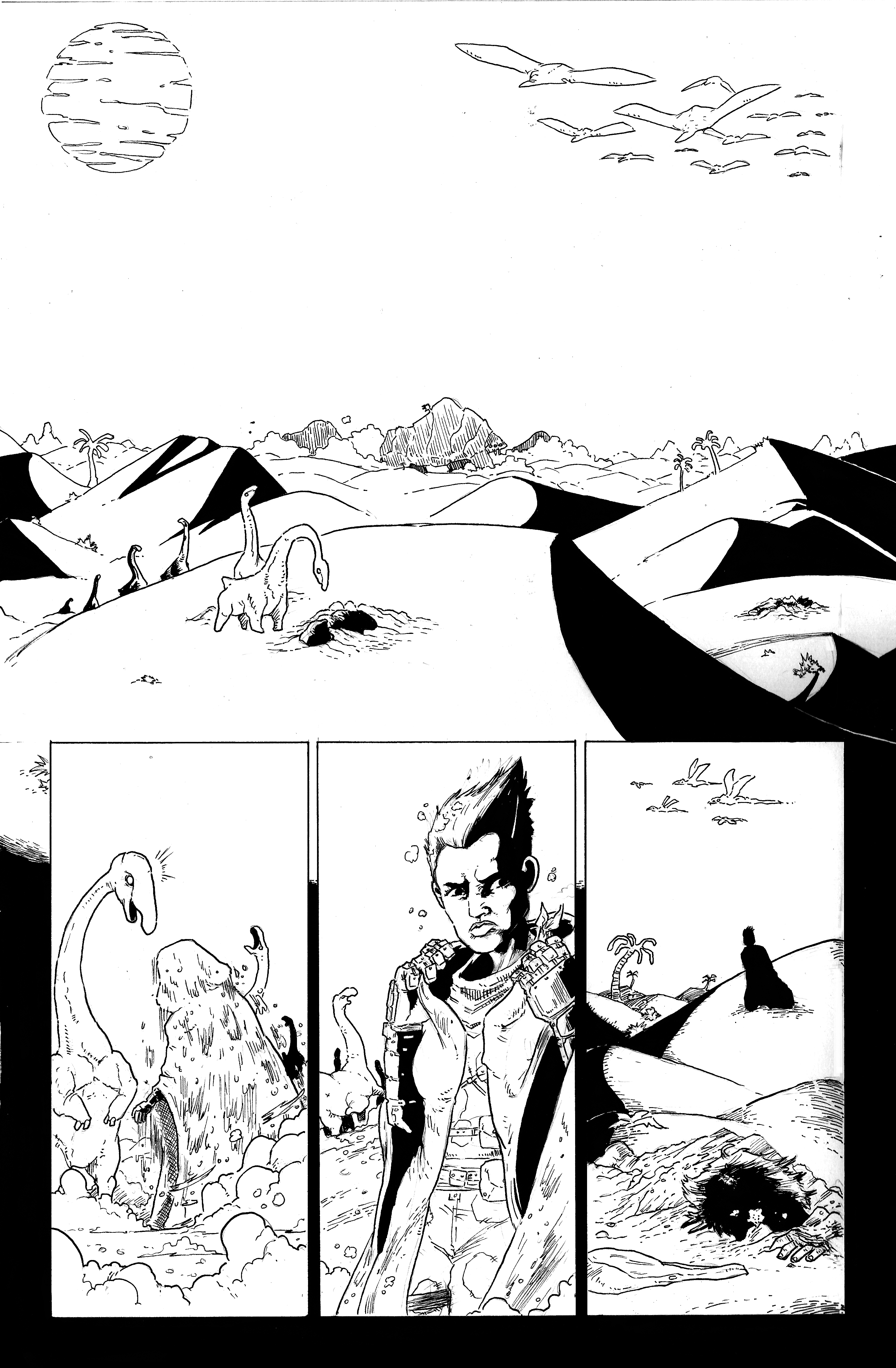 Sands Comic Page 1