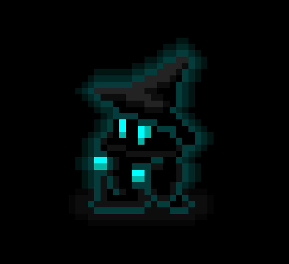8-bit Blue Wizard