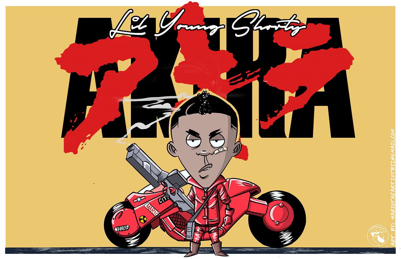 Lil Young Shorty as kaneda