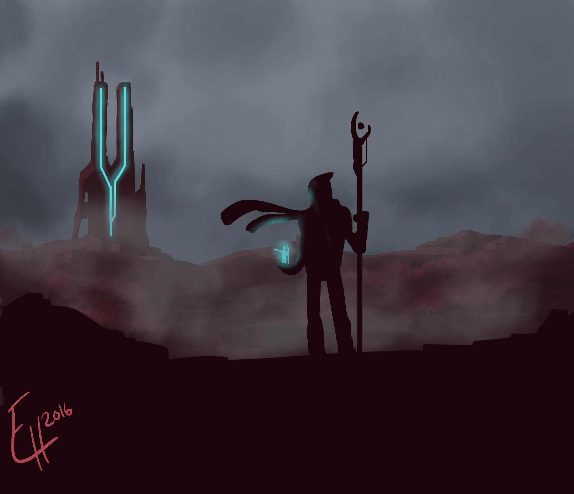 Digital Painting 024 - Starting over