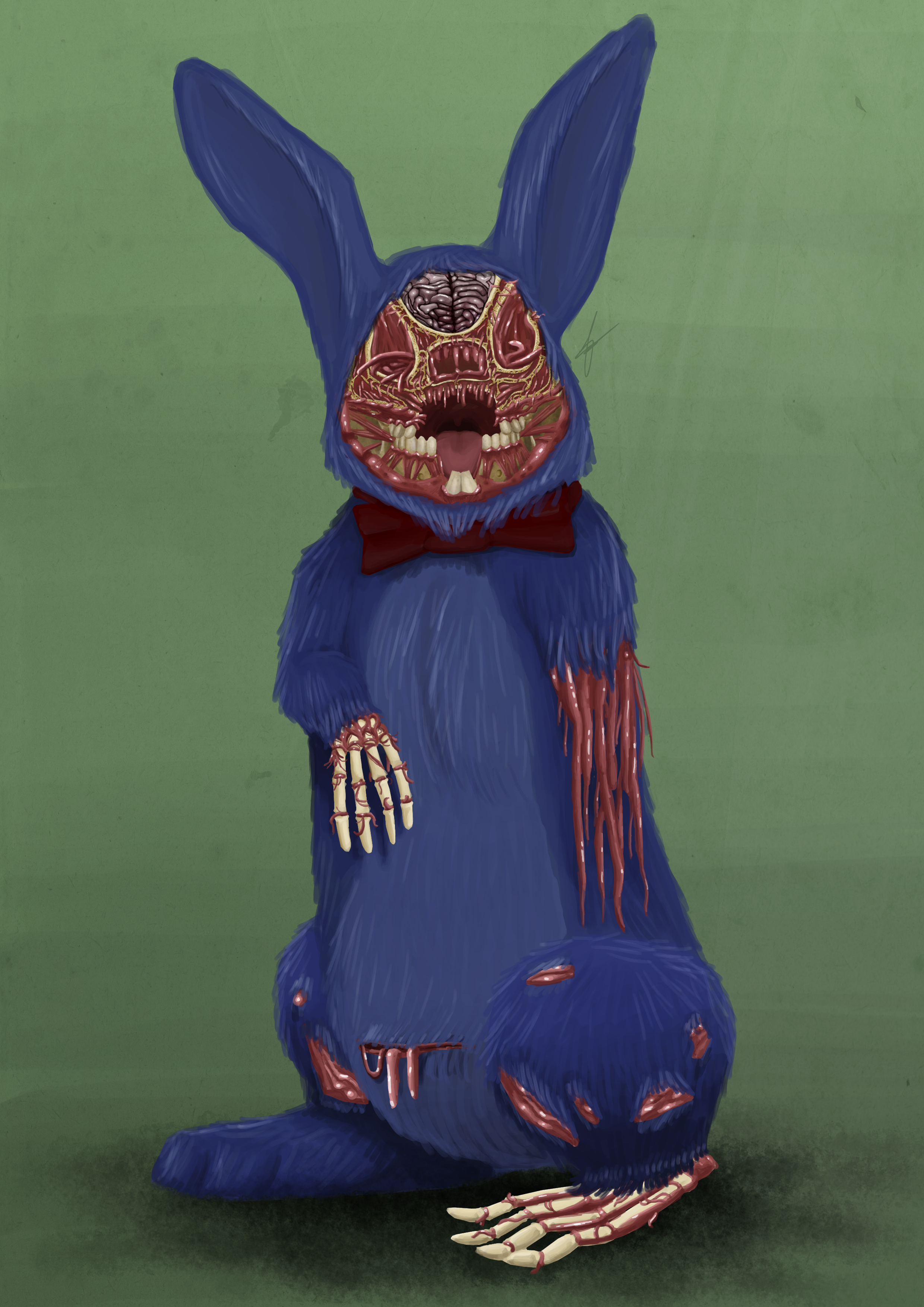 Freddy, my fucking face is gone