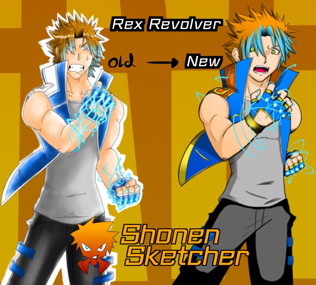 Old vs New Rex Revolver