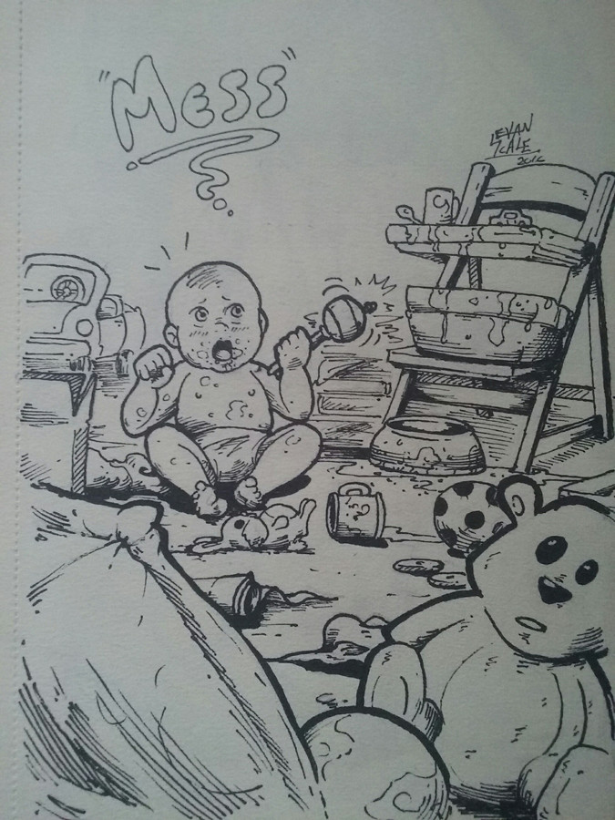 DAY 21 - Mess