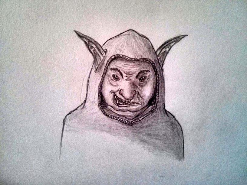 Mischievous Goblin Witch