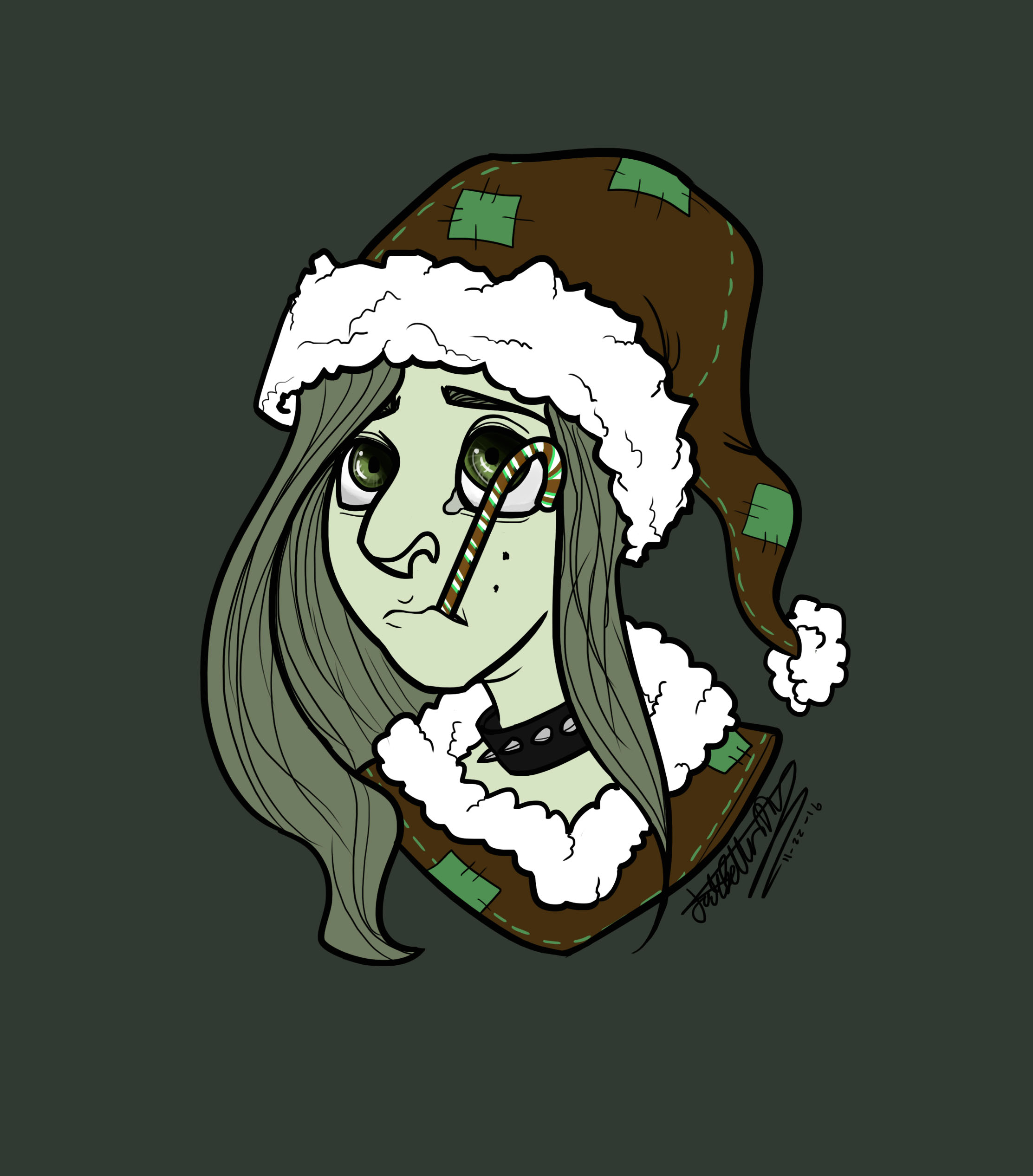 Christmas Icon! (Green)