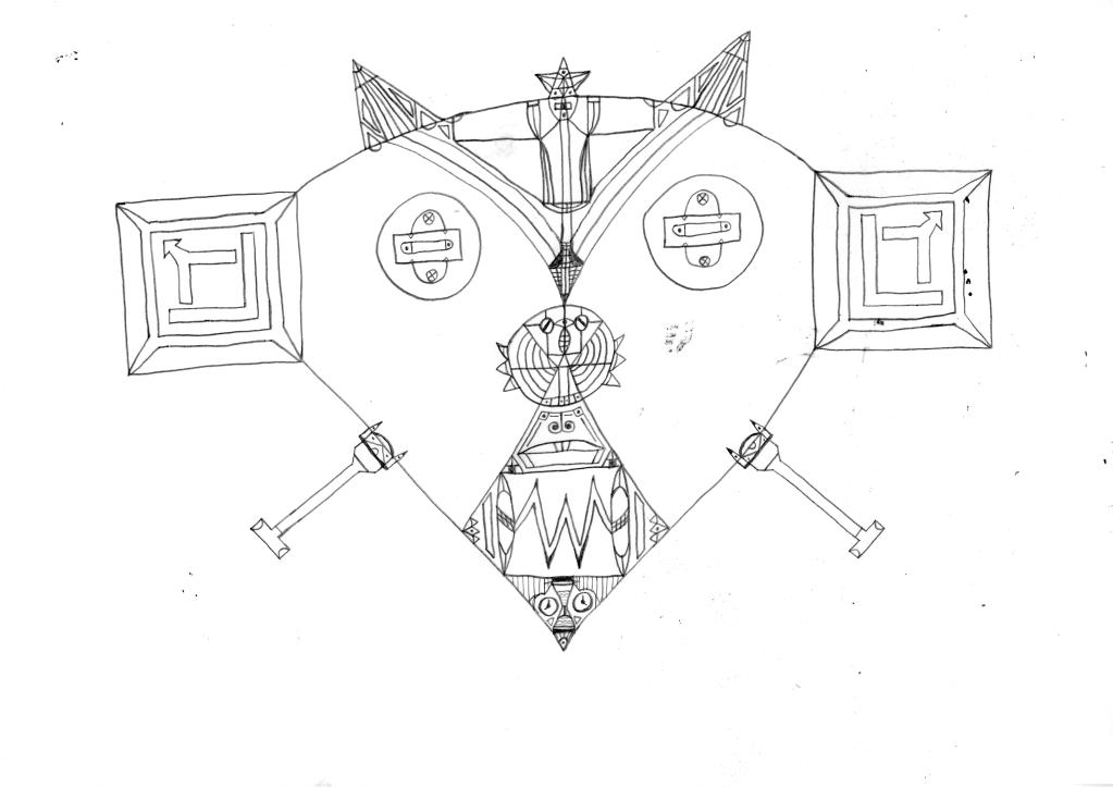 Art #16 -- Psychedelic Mask