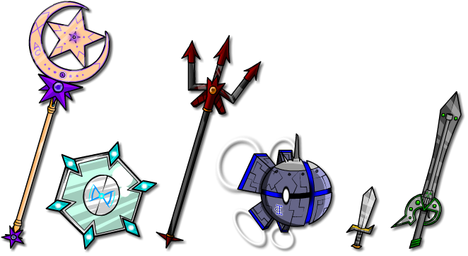 Weapon collection 2