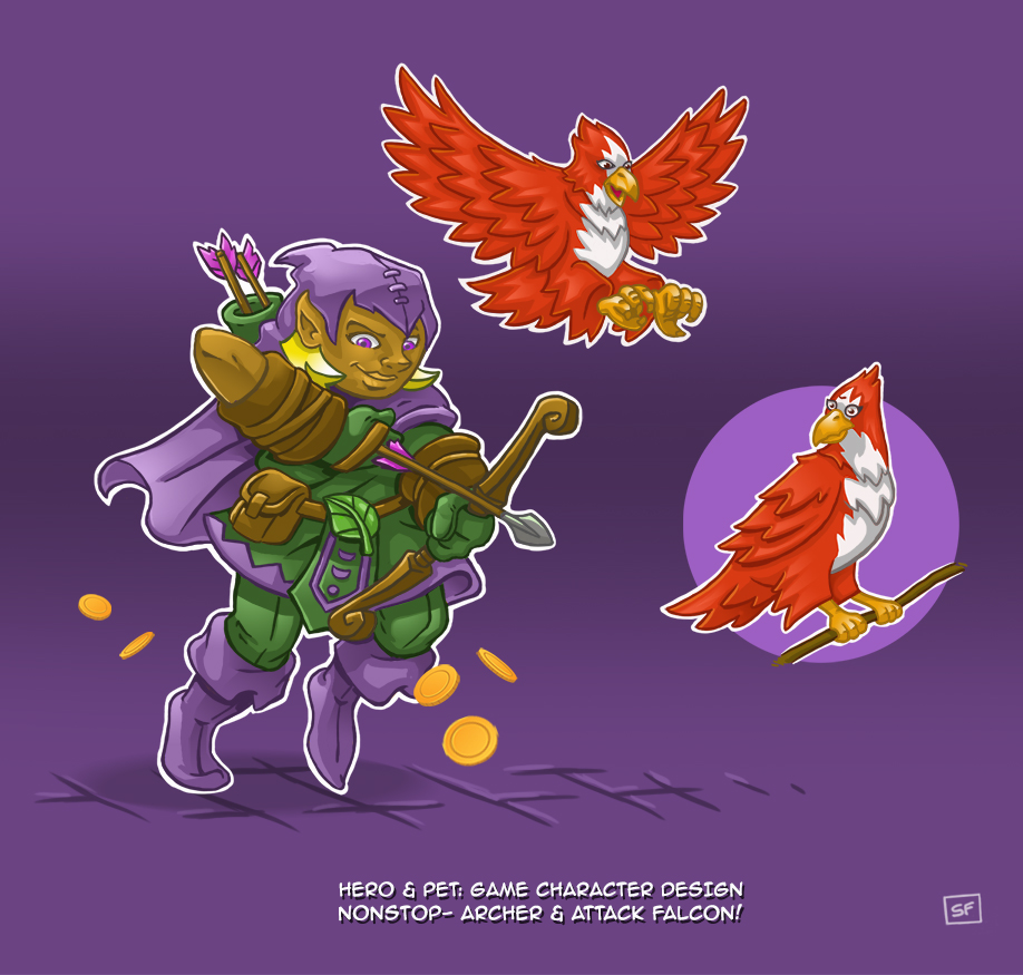 Character Design Jazza : Draw with jazza hero pet game character design by