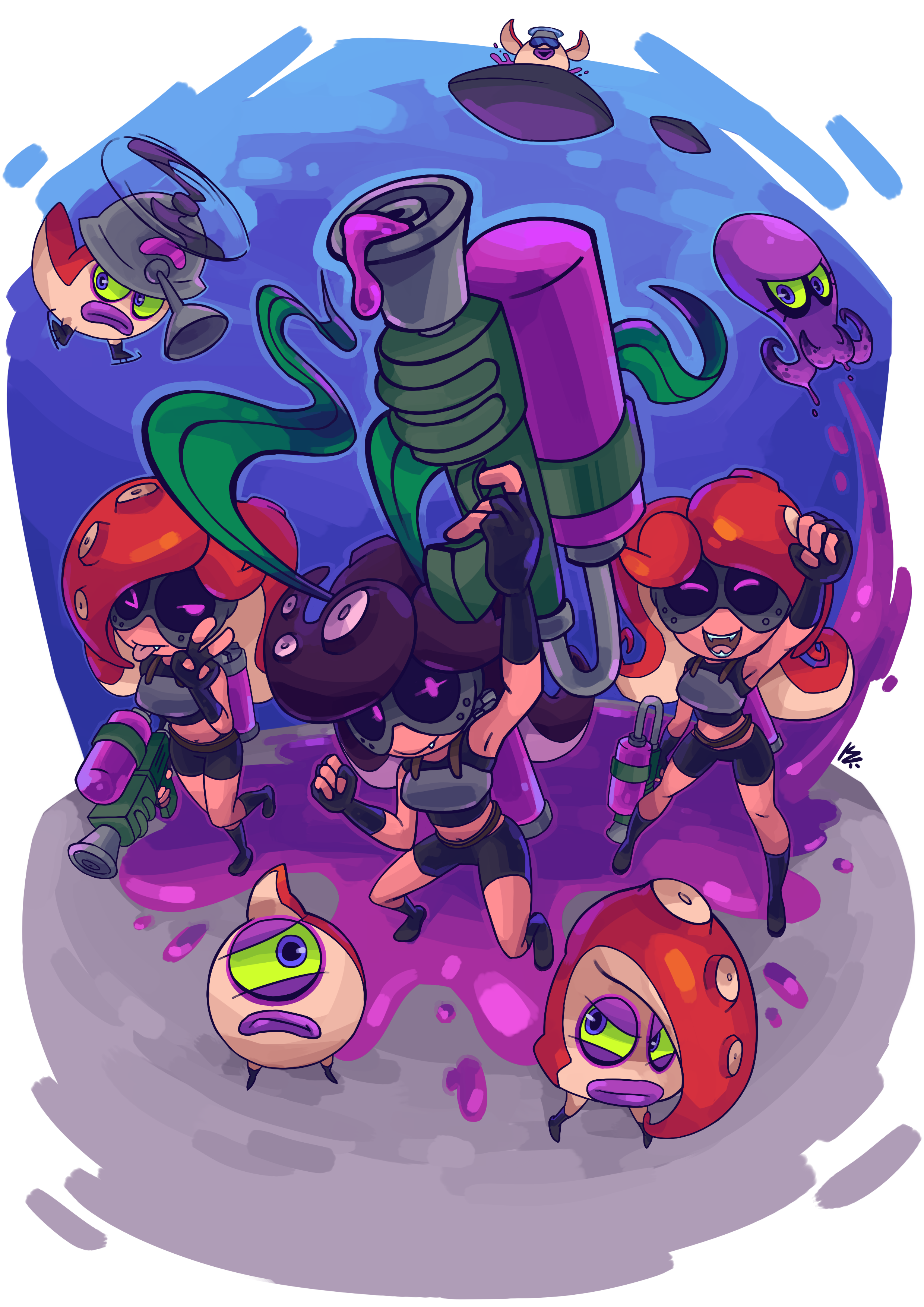 Octo Invasion