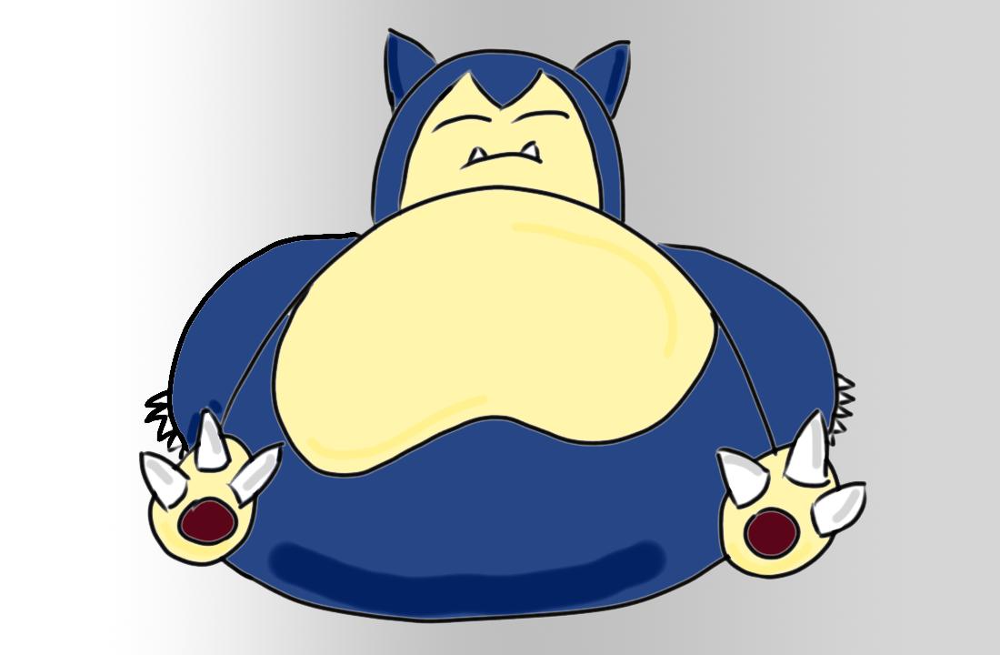 Snorlax: Extra Fat
