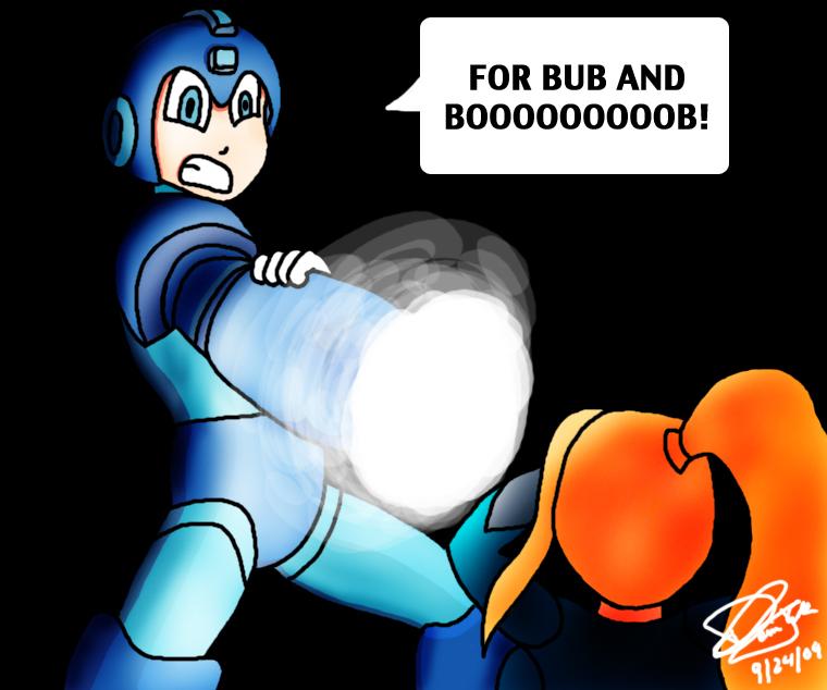 Mega Man VS. Samus Aran