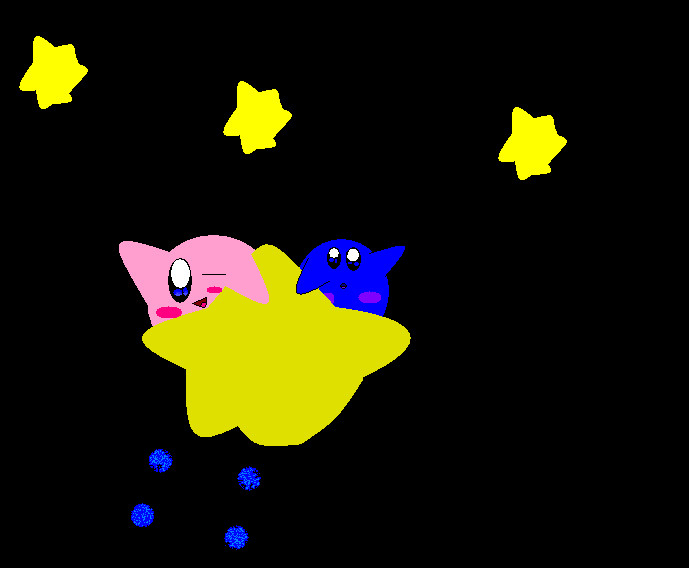 Kirby and meta knight unmasked