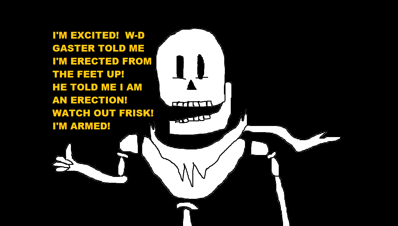 Under-Tale - Skeleton Knows What He's Made Of
