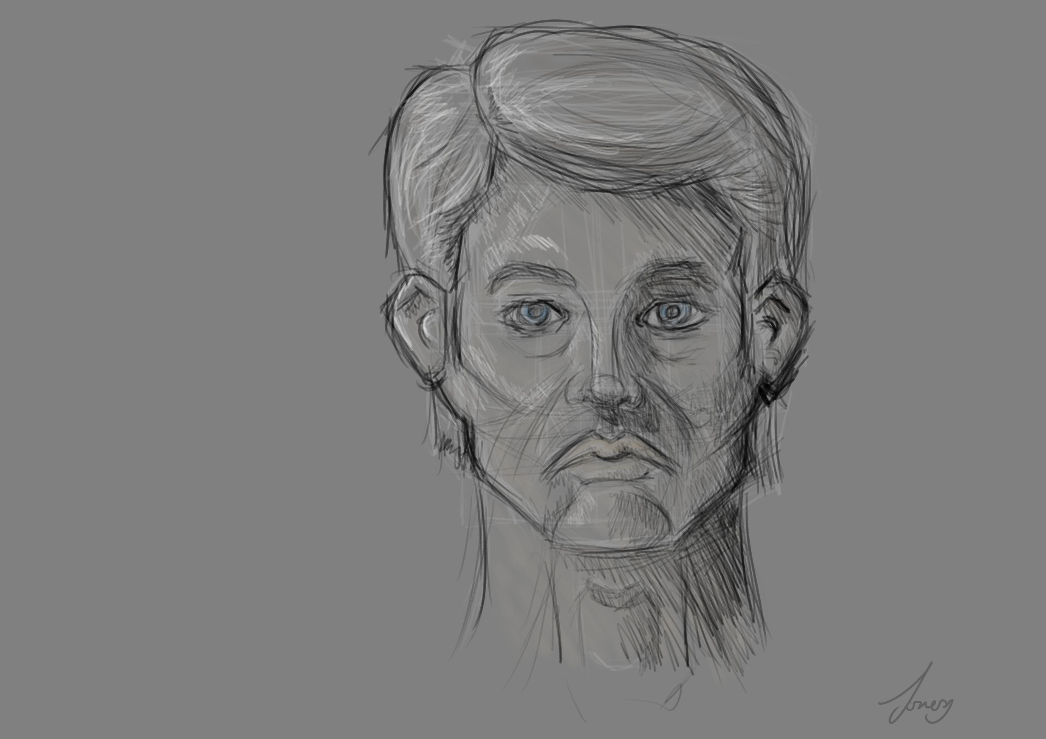A Face sketch