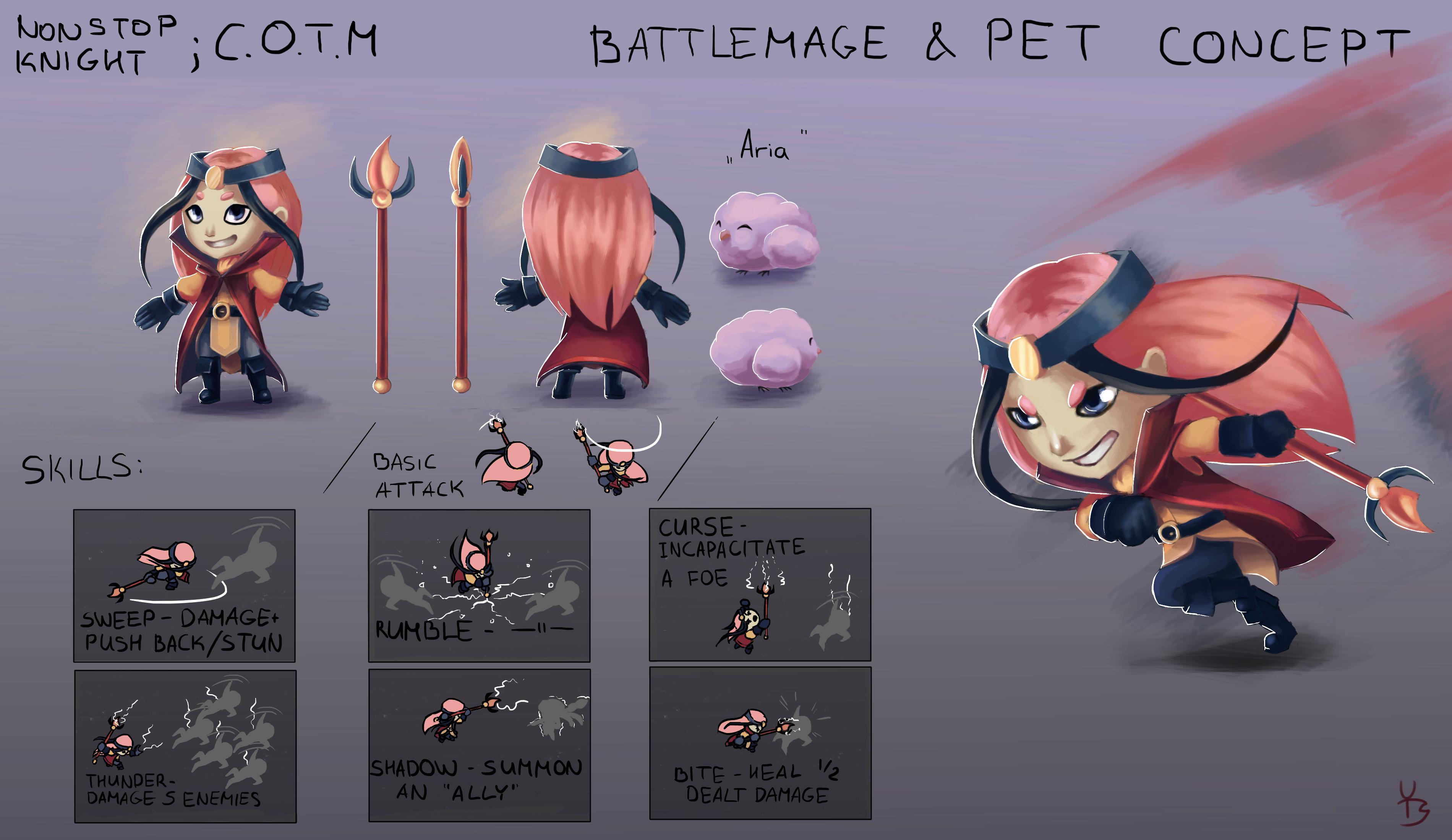 C.O.T.M - Hero&Pet Design