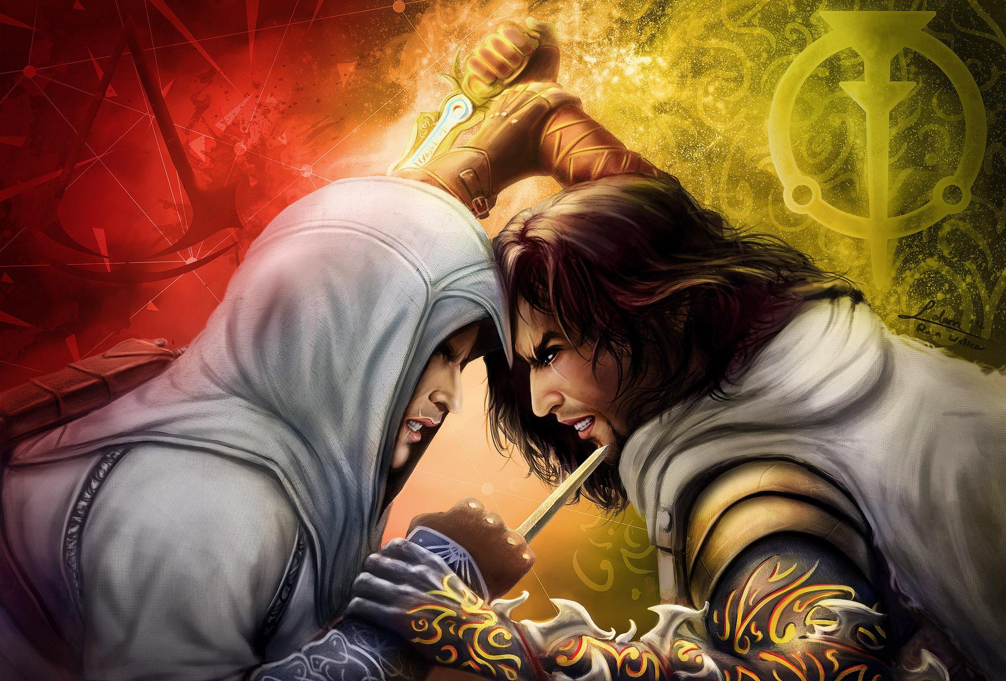 Prince of Persia VS Assassin Creed