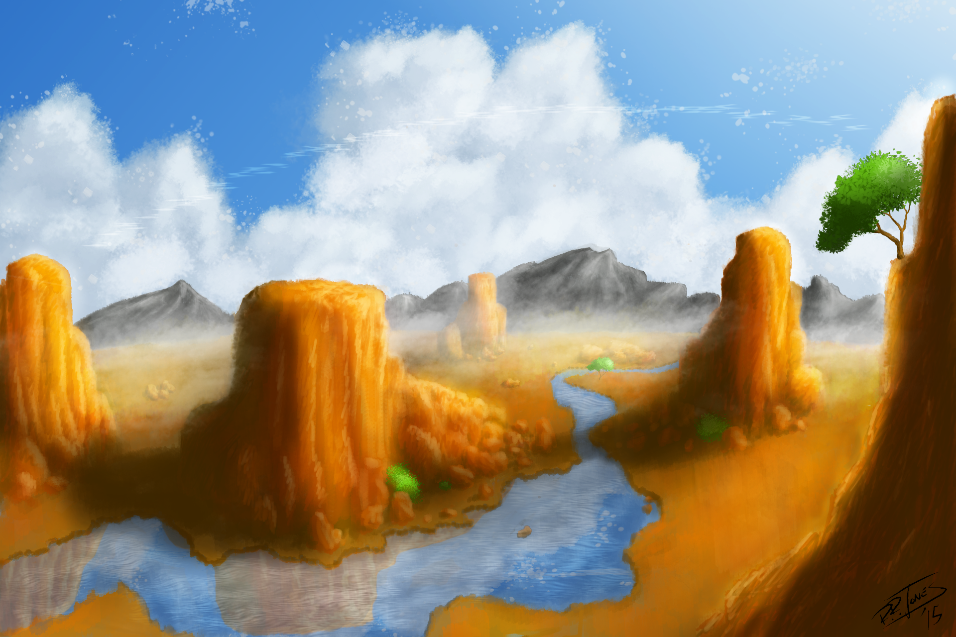 First Attempt At Landscape