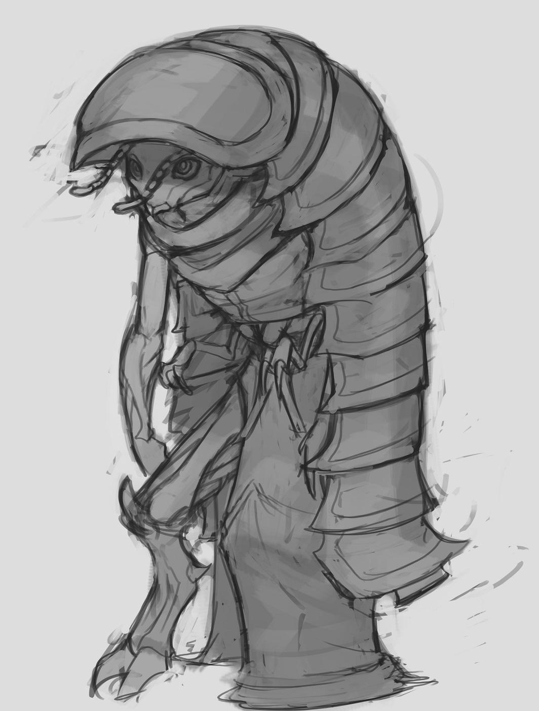 Pillbug millipede