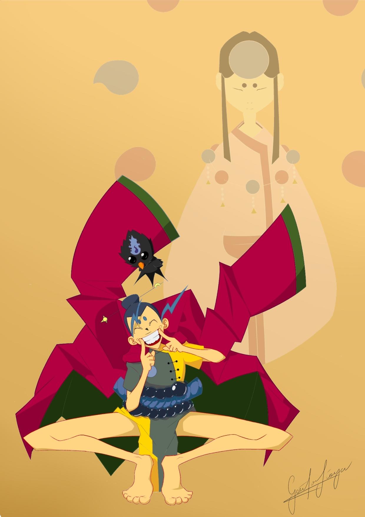 Teru and Yatagarasu
