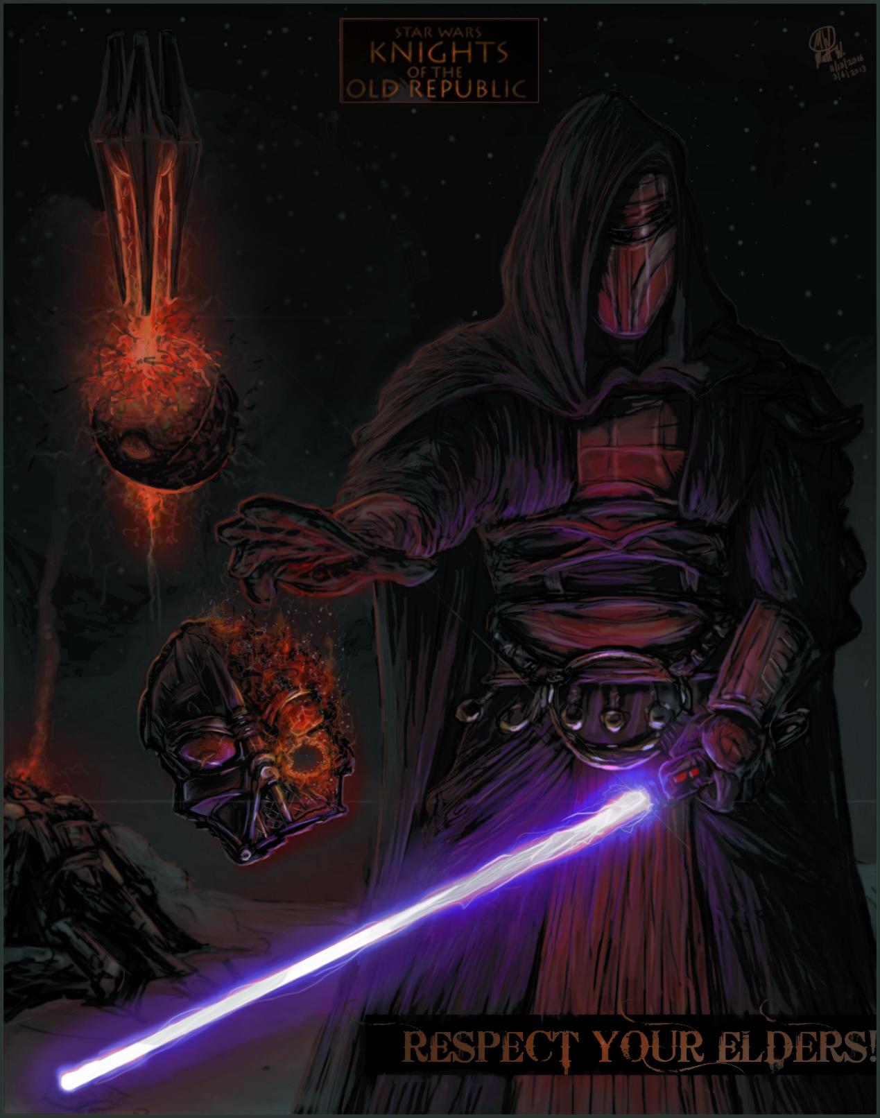 MW Revan vs Vader (Respect your Elders)