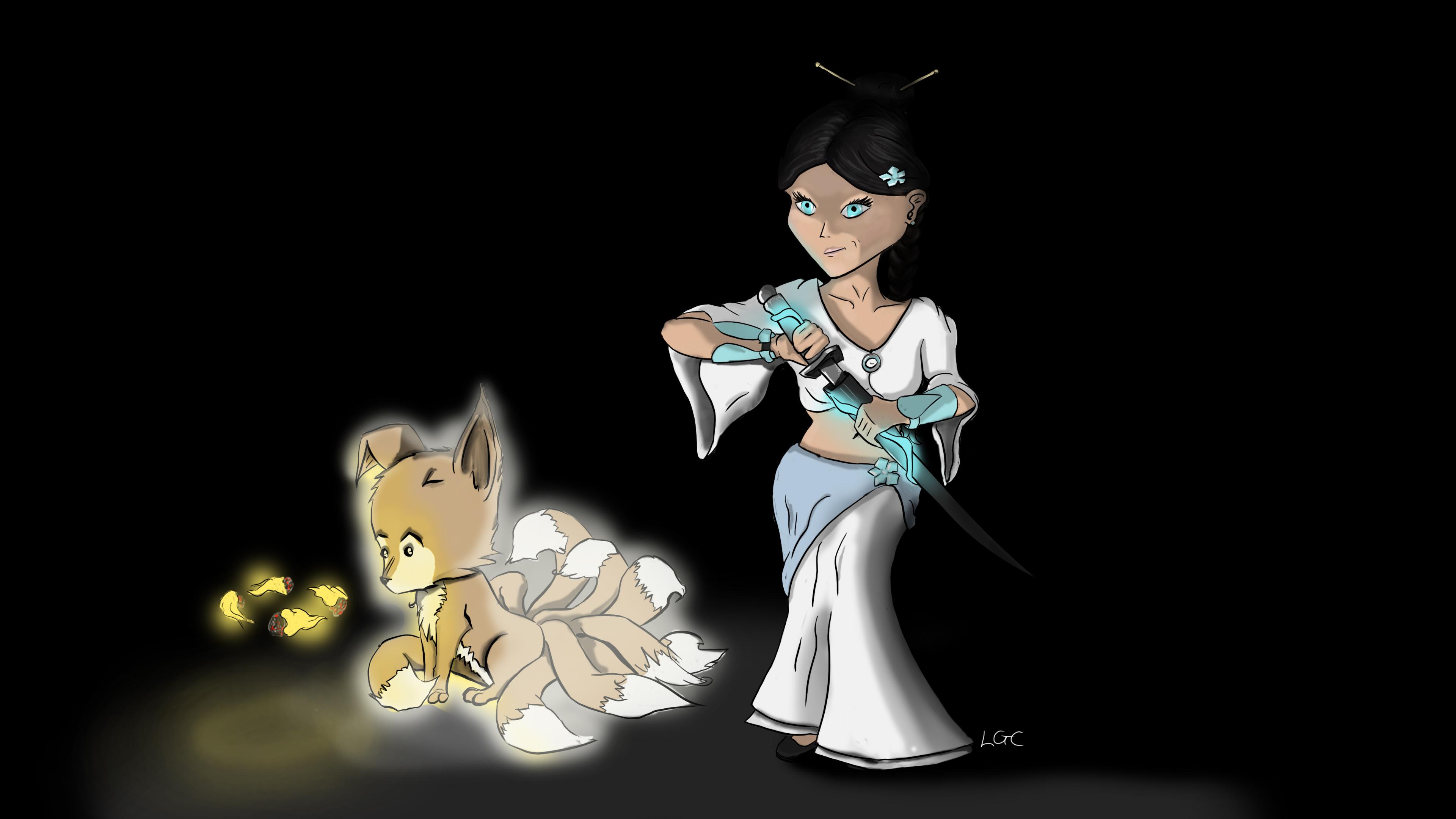 Yanmei and Her Spirit Fox