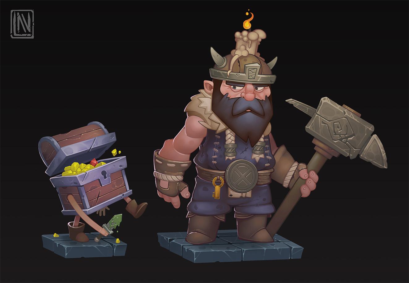 Brobeard and Lootman
