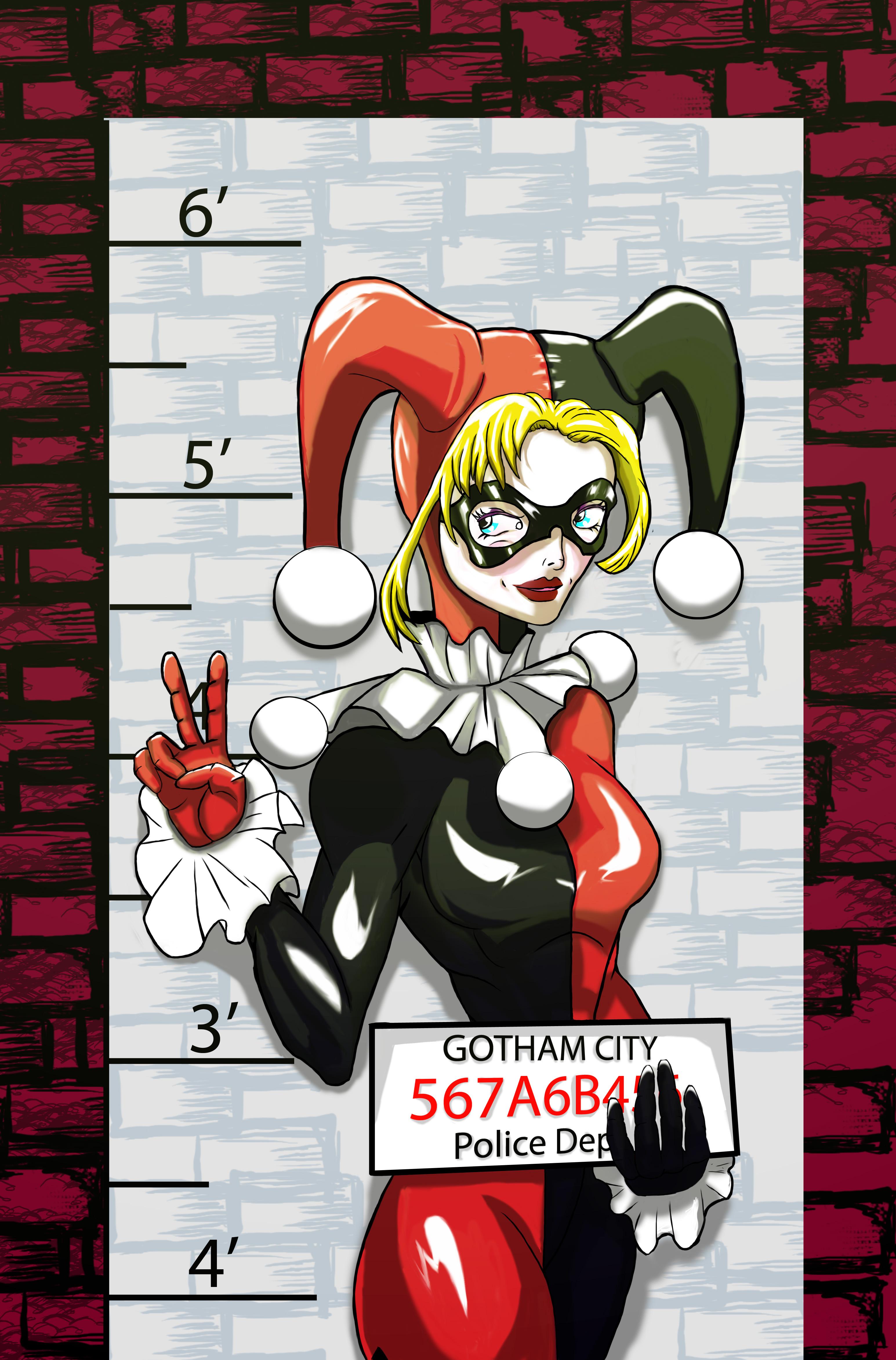 line up: Harley Quinn