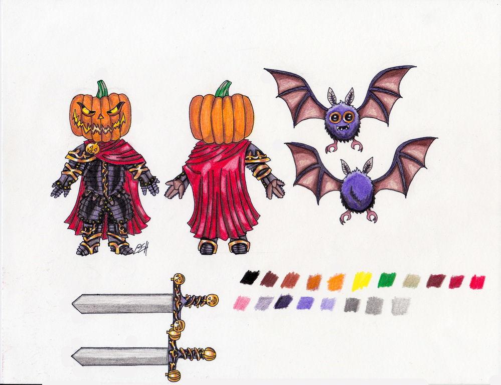 Pumpkin Knight