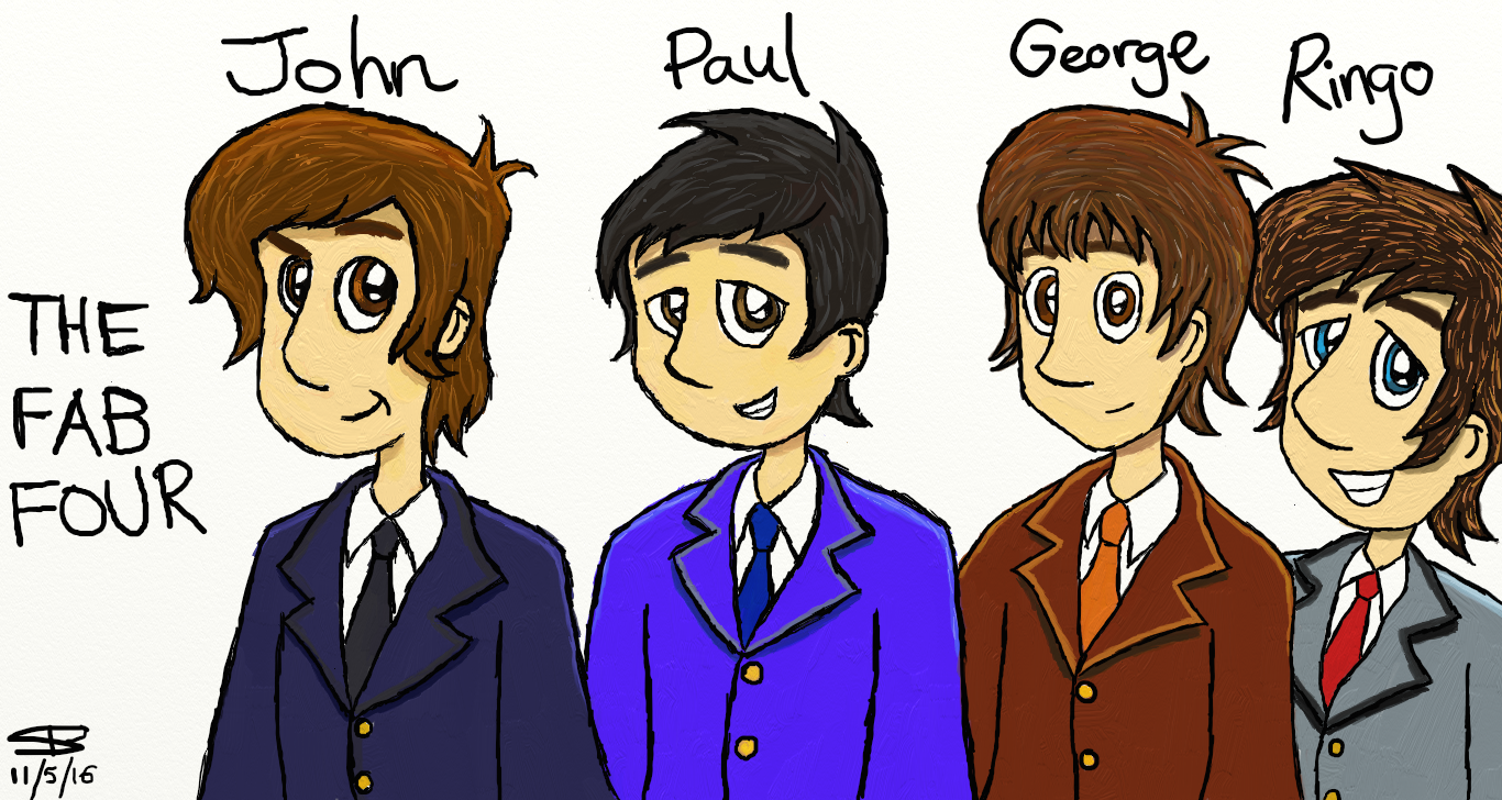 The Fab Four - 1964