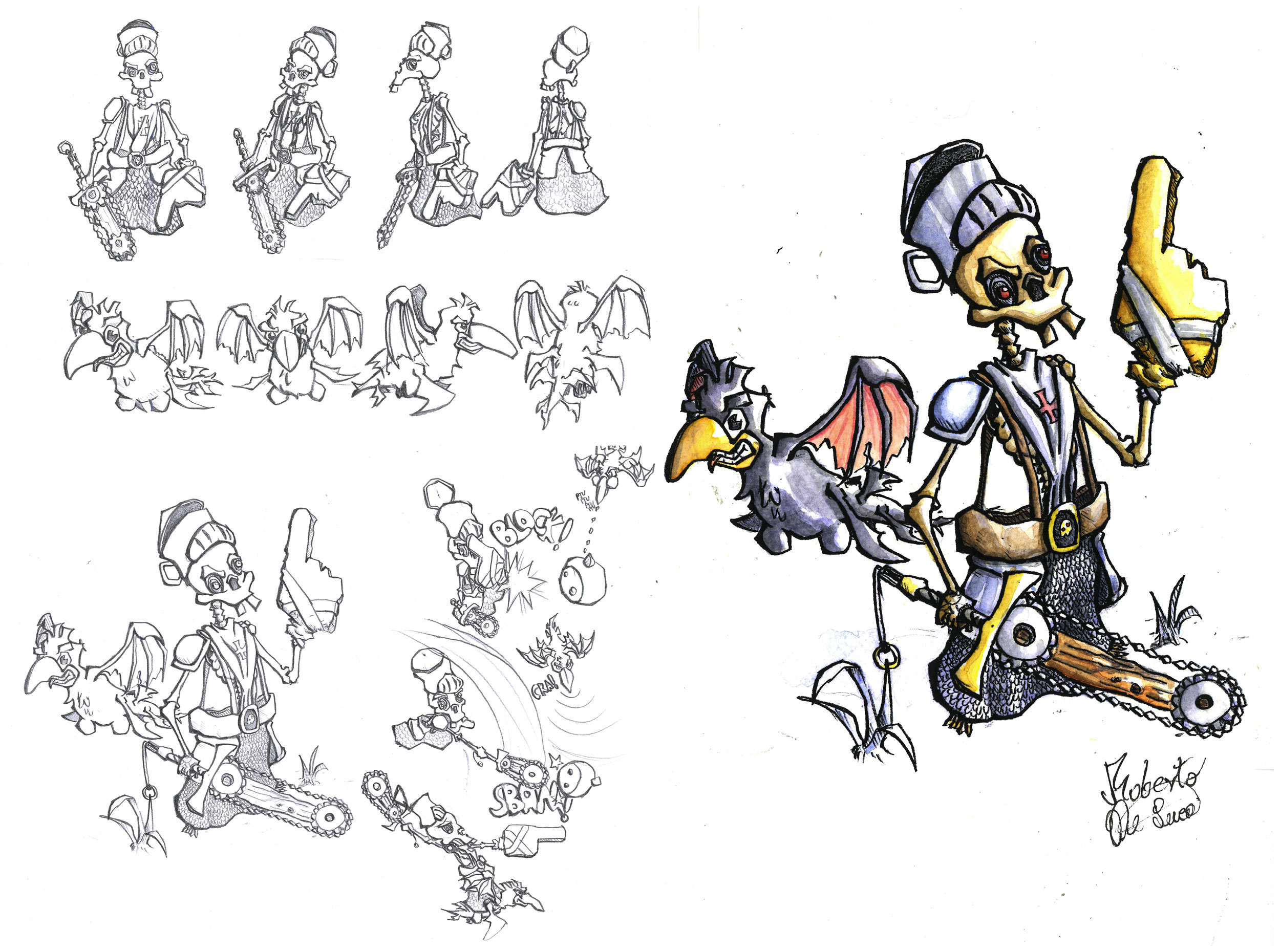 The UNTOLD KNIGHT - character design-