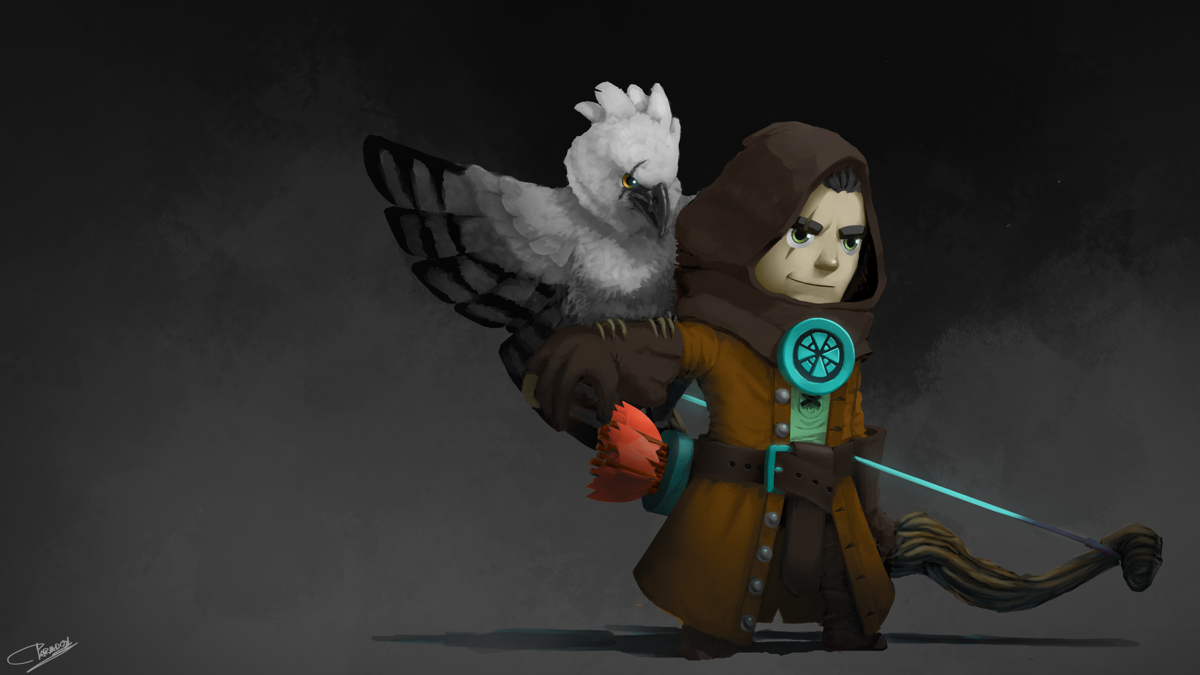 COTM Jazza - Hero&Pet - Ranger & Harpy Eagle