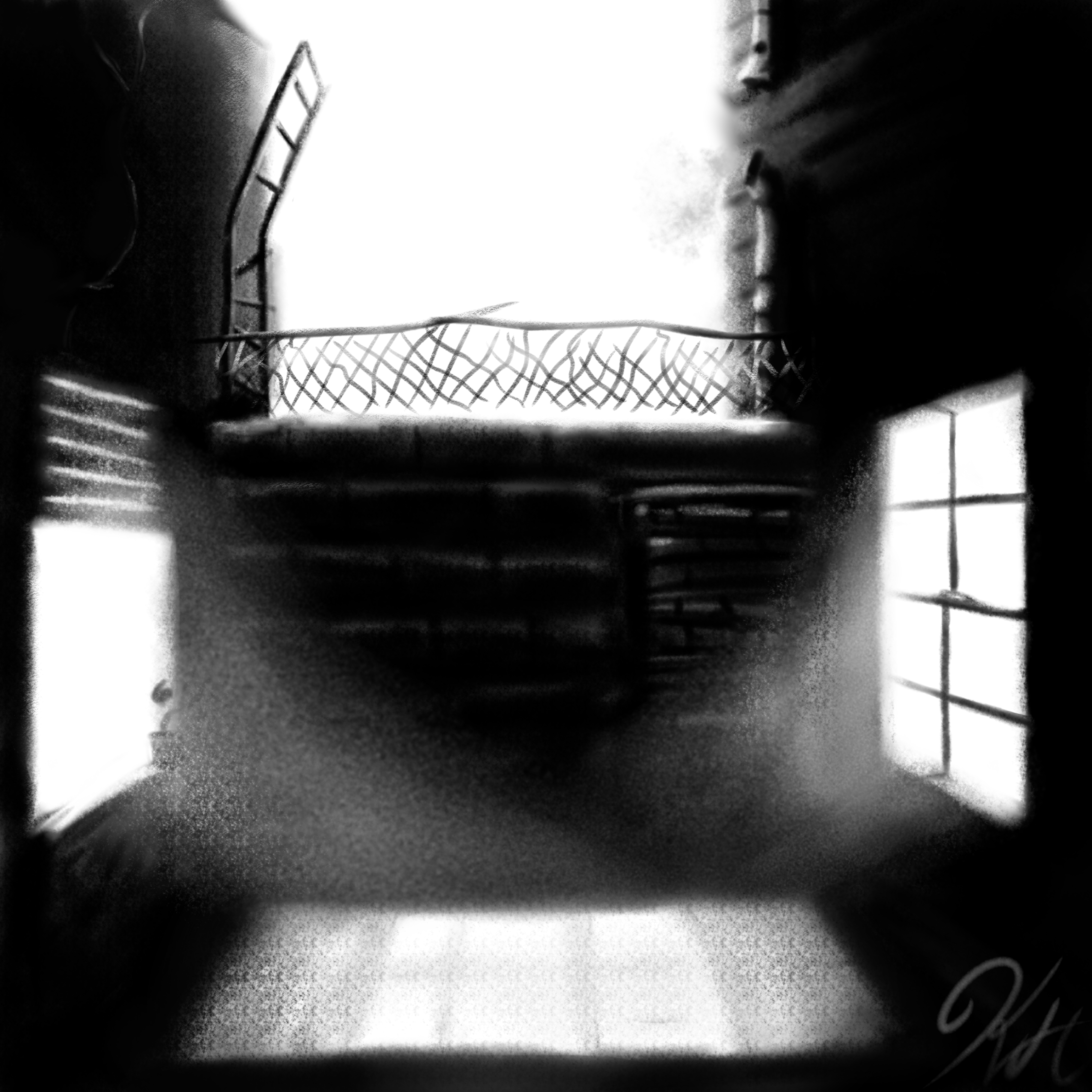 Black & White alley