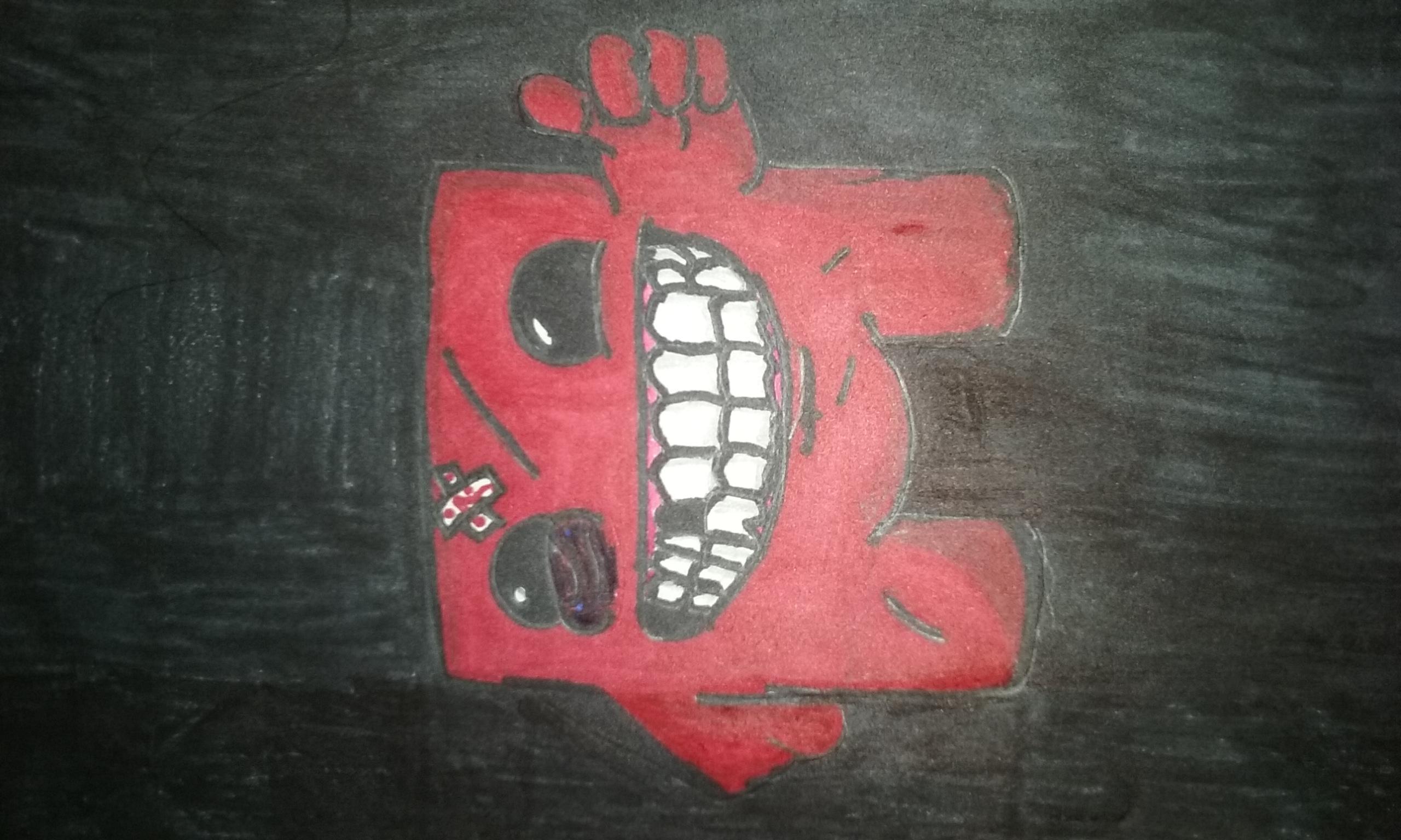 Hand Drawn - Super Meat Boy