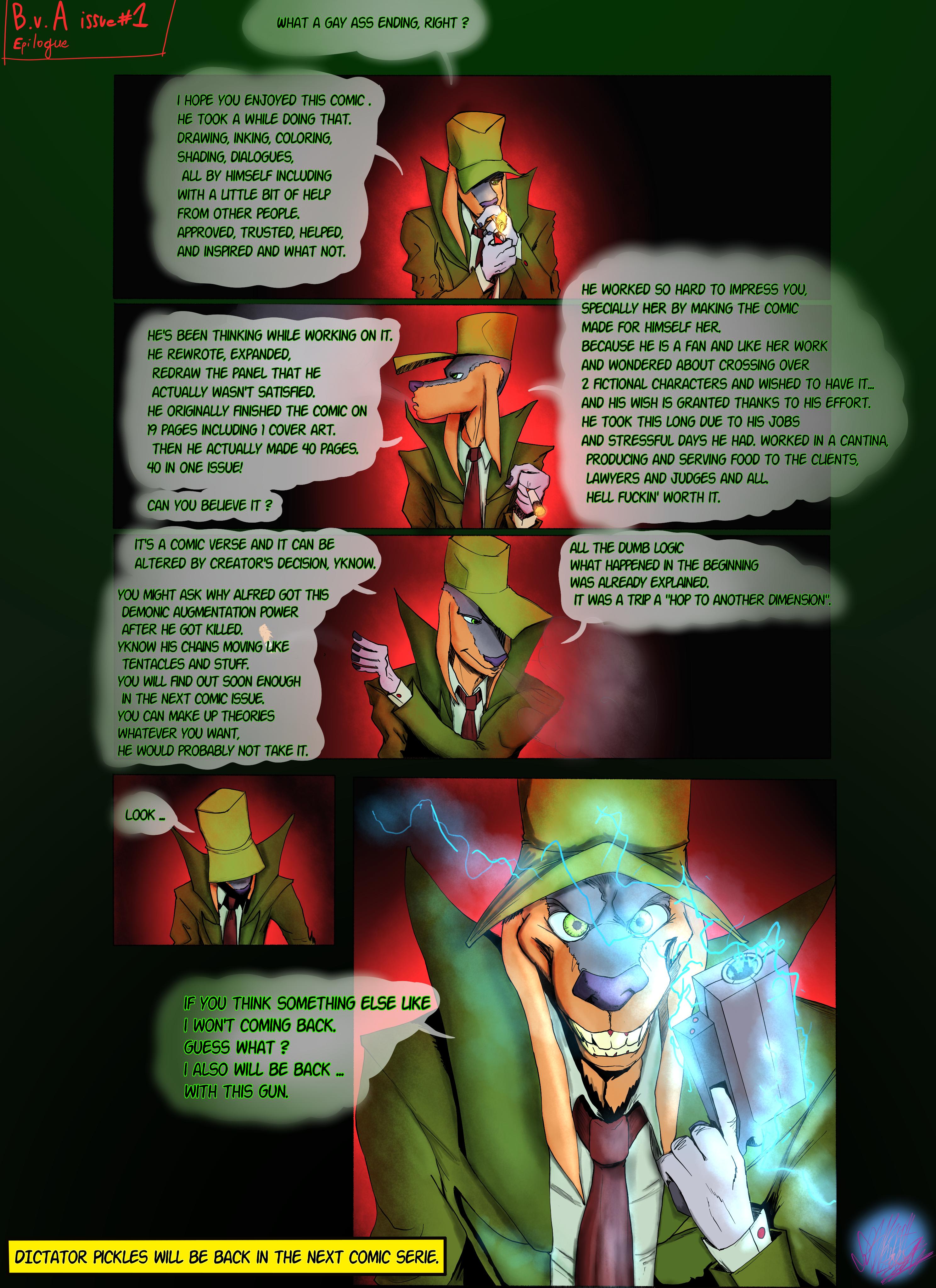 Bob the Psycho Rabbit Vs Alfred Alfer Epilogue (comic)