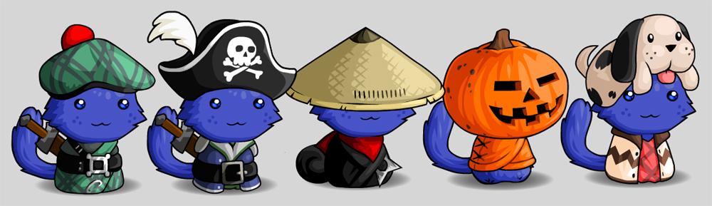 Cat Hats 2