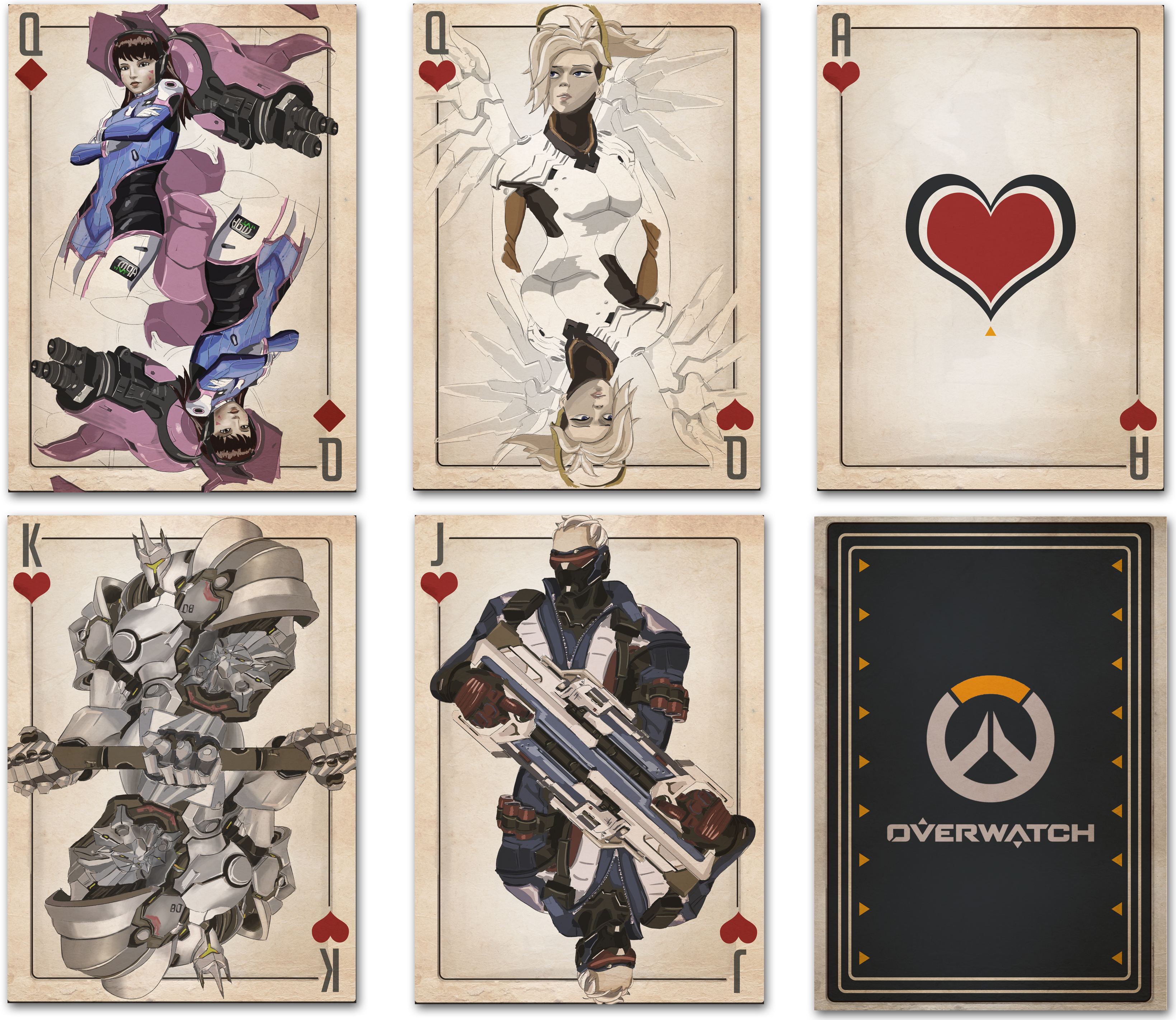 Overwatch Playing Cards