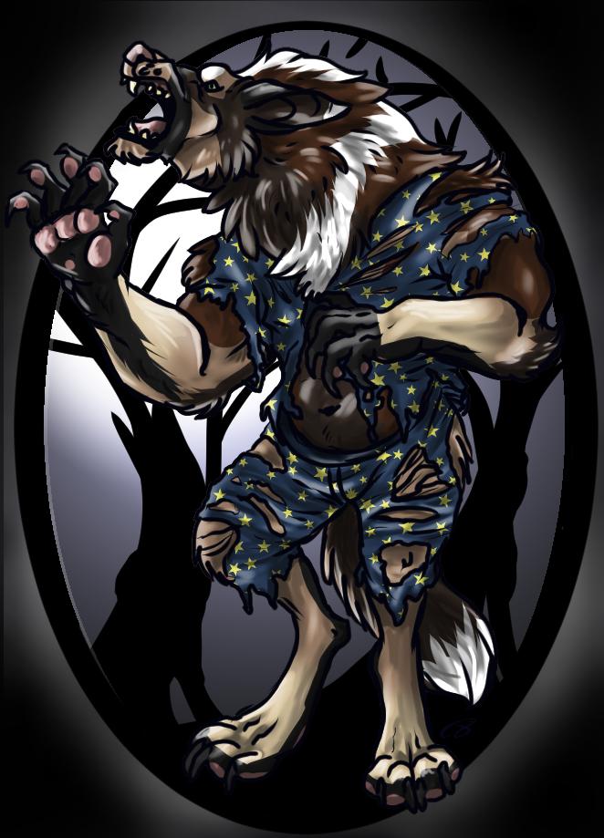 Werewolf In Pajamas
