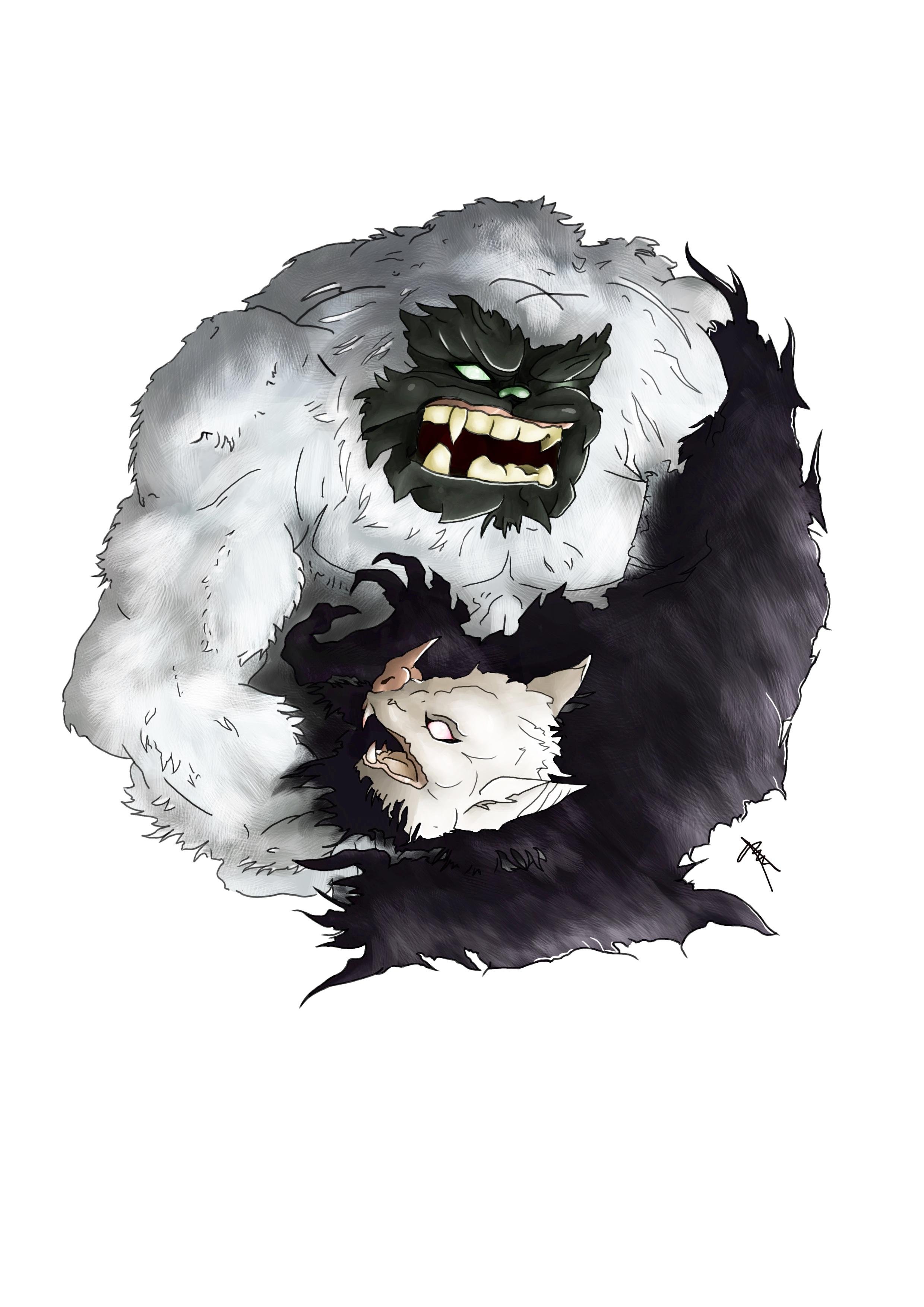 Yeti Yin VS Batty Yang