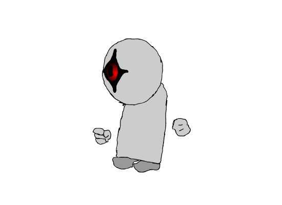 One-Eyed Creature - Original By: Alpha-Nuva
