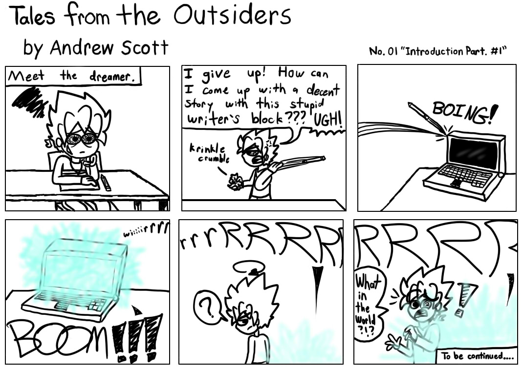Tales From The Outsiders No.01