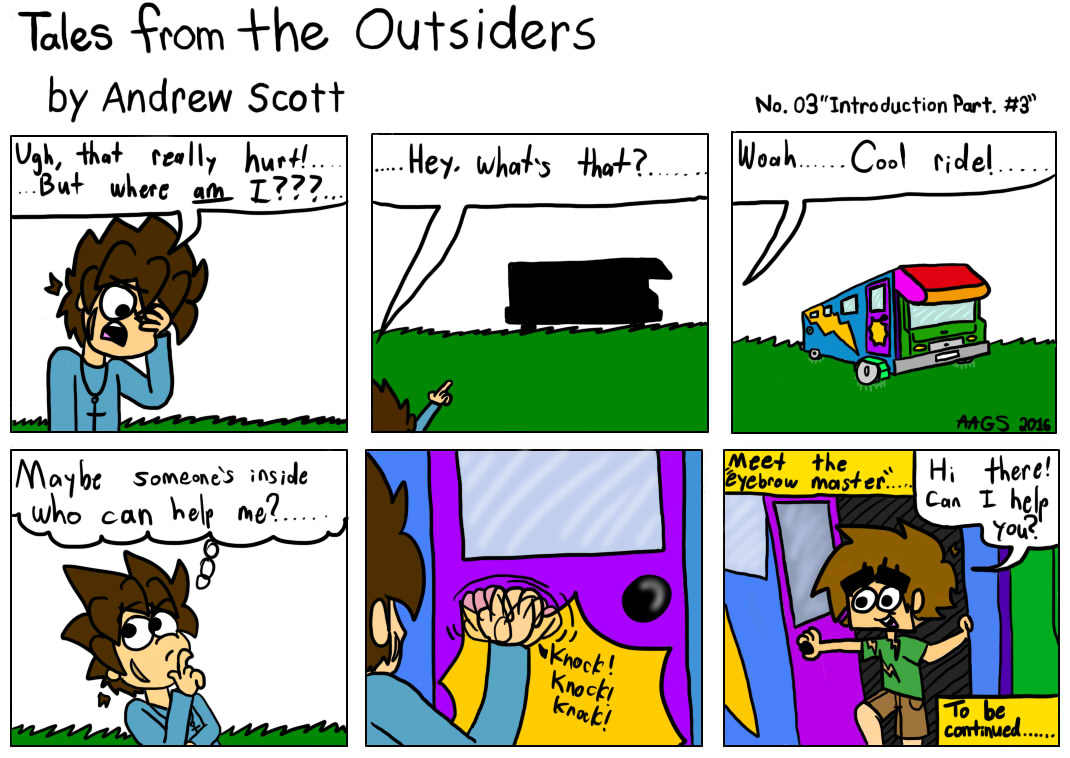 Tales From The Outsiders No.03