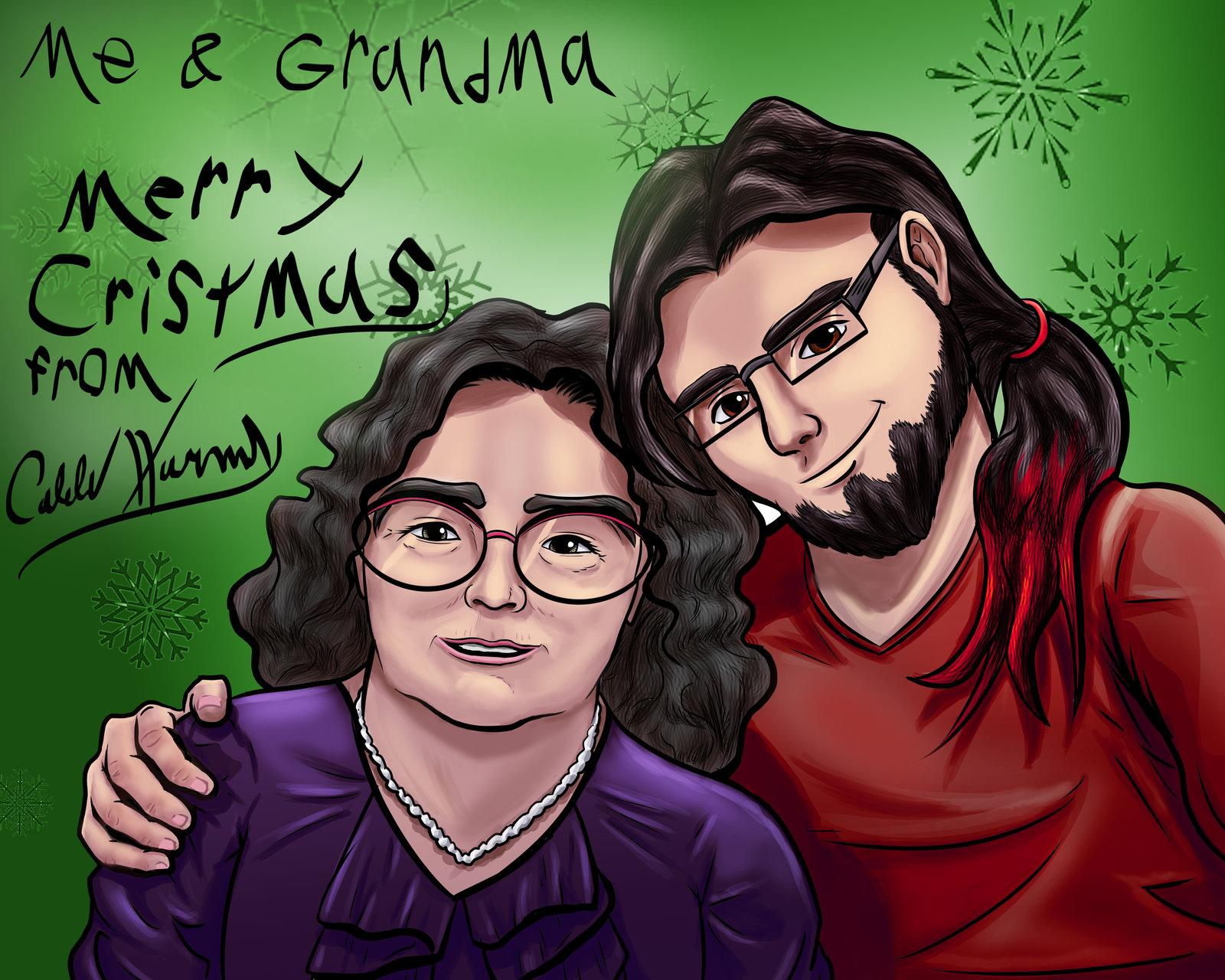 Me and my Grandma for Christmas