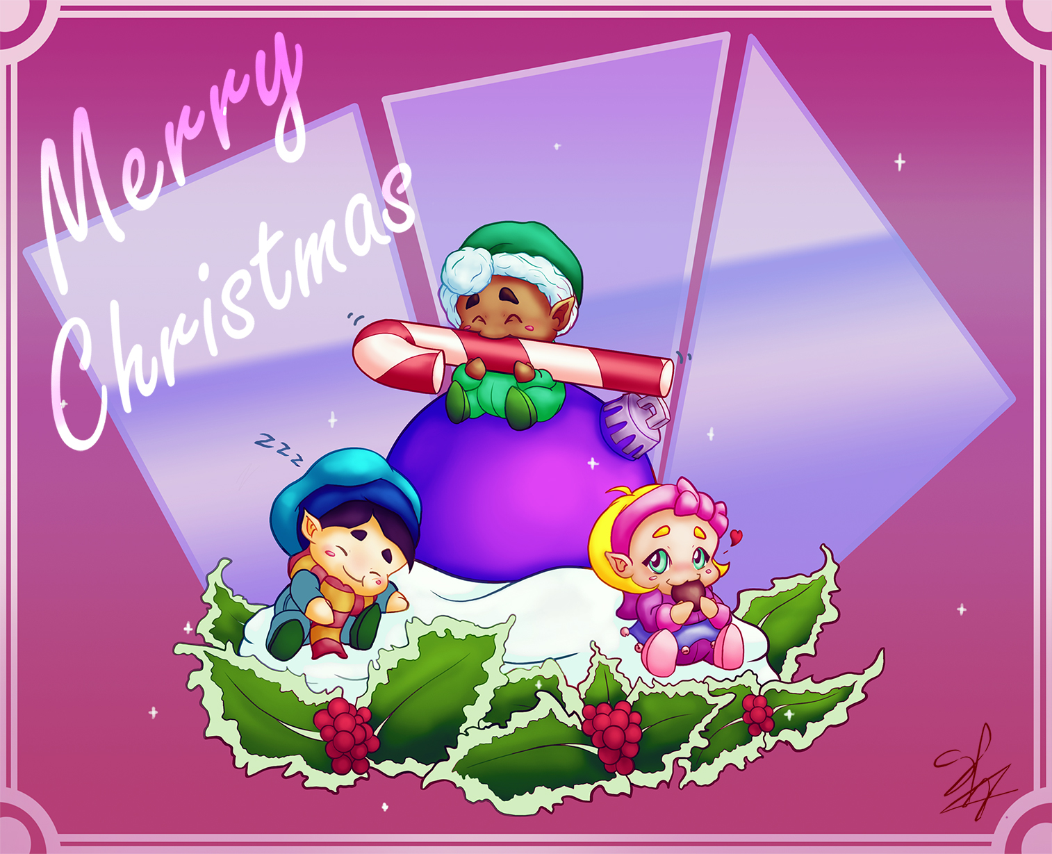 Merry Christmas! Eat, love and sleep