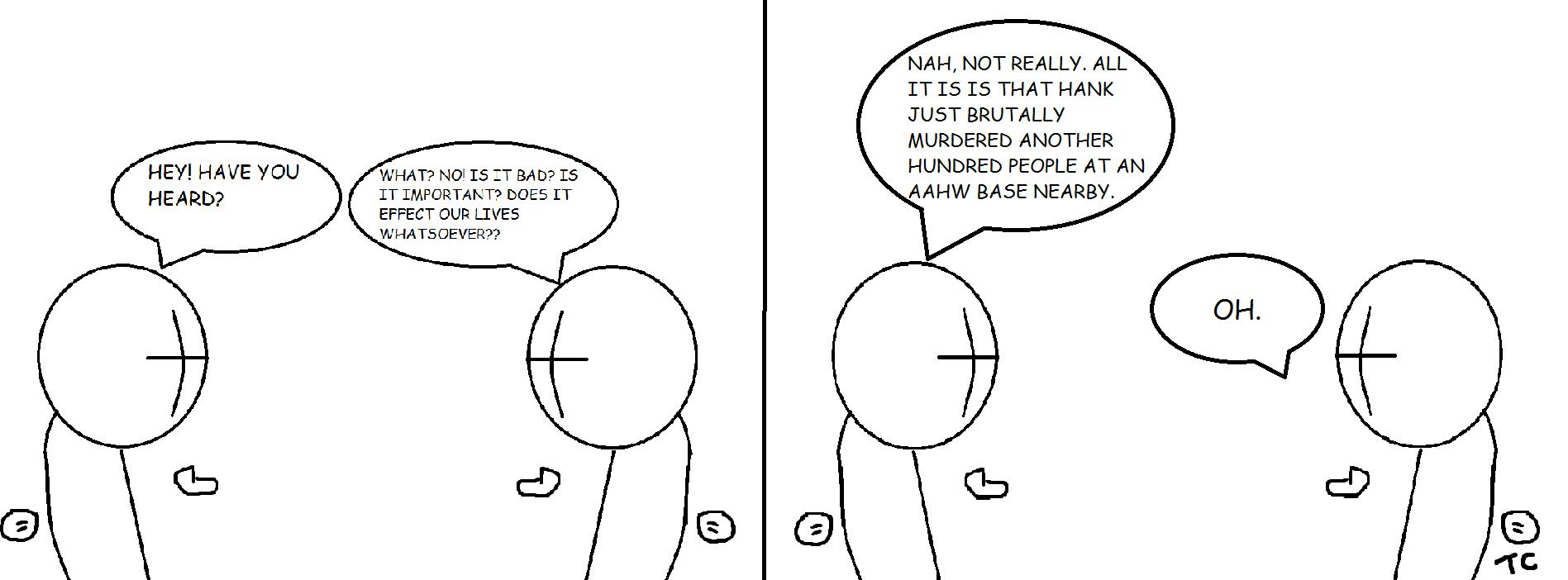 Madness Comic 1