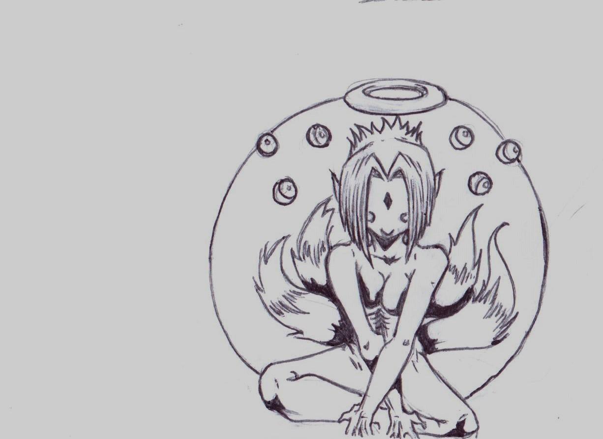 Some sort of Buddhist chick