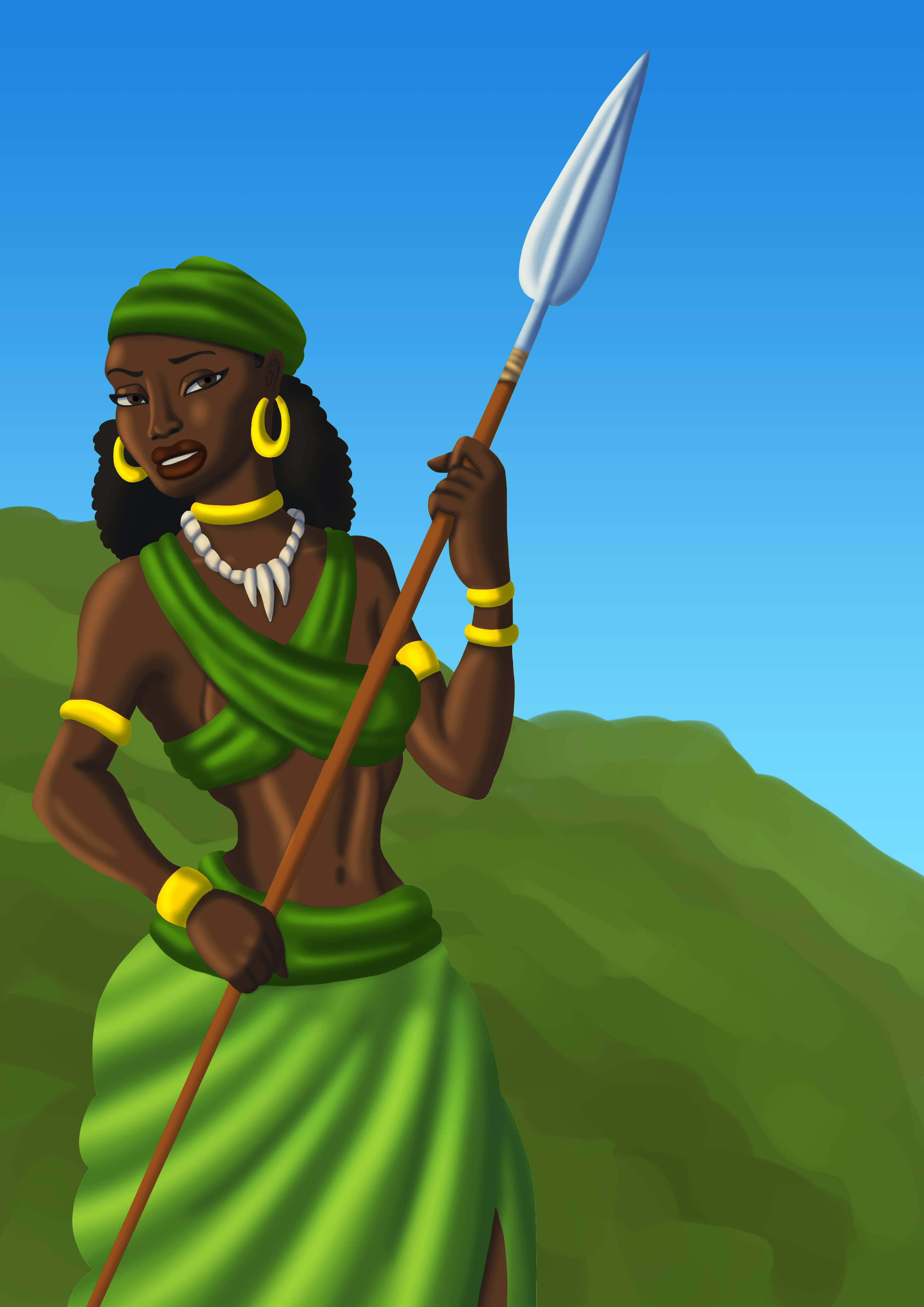 Gbeto Huntress